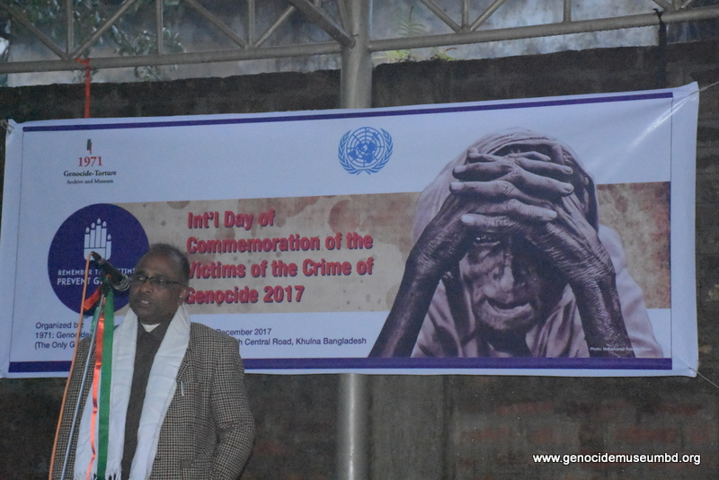 Genocide Museum of Bangladesh observed Int'l Day of Commemoration and Dignity of Victims of Crime of Genocide and of the Prevention of this Crime